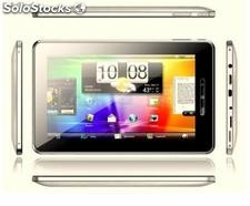 "7""tablets/umd/ mid umpc android2.3 boxchip cortex-a8@1.2Ghz 512m/'4g capacitivo"