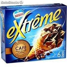 700ML 6 cornets extreme cafe/feuillete nestle