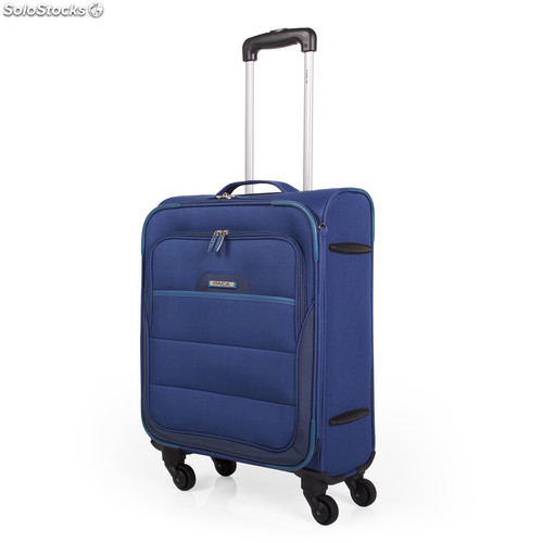 70950 trolley poliester/eva cabina low cost azul