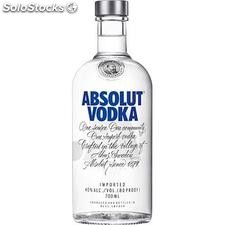 70CL vodka absolut 40°