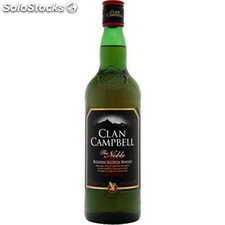 70CL whisky clan campbell 40°
