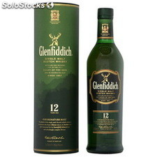 70CL whisky glenfiddich 40°