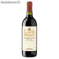 75 cl bordeaux rouge