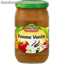 750G compote de pomme vanille andros