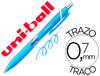 75330 Boligrafo uni-ball roller jetstream sxn157c retractil 0,7 mm color azul