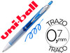 75338 Boligrafo uni-ball roller umn-207 retractil 0,7 mm color azul