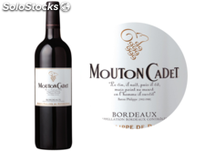75CL bordeaux rouge mouton cadet 2013