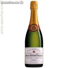 75CL champagne brut alfred rotschild