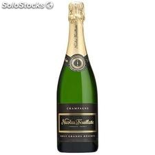 75CL champagne brut nicolas feuillate 12°