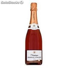 75CL champagne rose charles vincent