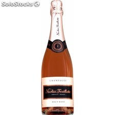 75CL champagne rose nicolas feuillate