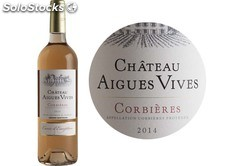 75CL corbieres rose chateau aigues vives 2012