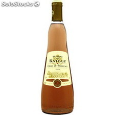 75CL cotes de provence rose reserve bailly