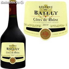 75CL cotes du rhone rouge reserve bailly 2008