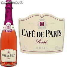 75CL mousseux rose cafe paris