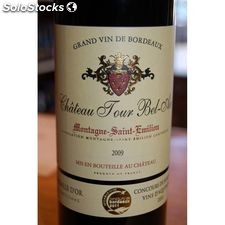 75CL saint emilion rouge chateau tour bel air