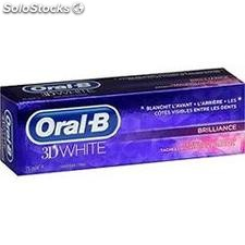 75ML dentifrice 3DW brillance oral b