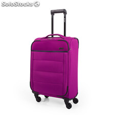 76350 trolley poliester cabina low cost marca jaslen fucsia