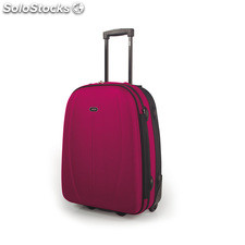 76745 trolley poliester/eva cabina low cost marca jaslen fucsia/gris oscuro