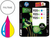 78021 Ink-jet hp 935xl 6230 / 6830 pack multicolor 1.200 pag
