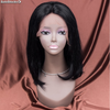 7A Peluca cabello indiano full lace wig