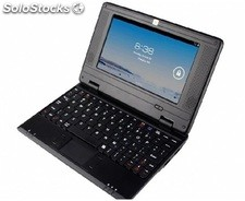 7pul mini android netbook laptop android4.2 via 8880 dual-core 512mb 4gb