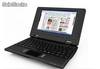 7pul mini netbook notebook laptop android2.2 wm8650 800Mhz 256m 4g wifi