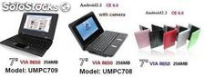 7pul mini netbook noteboop laptop android2.2 800MHz 256m 4g wifi