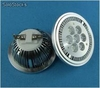 7Watts ar111 Bombilla led g53/e27/gu10 Blanco Calida