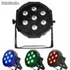 7x10W led Flat Par rgbw 4in1 led Stage Par Light