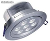 7x1W led spot light, super bright led Downlight, 600lm