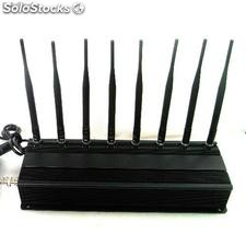 8 Antennas High Power gps/ WiFi/ vhf/ uhf Jammer
