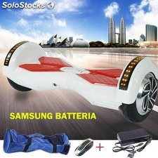 8'' bluetooth smart balance hoverboard elettrico scooter due ruote skateboard