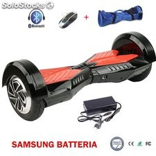 8 hoverboard elettrico scooter smart balance 2 ruote skateboard batteria samsung