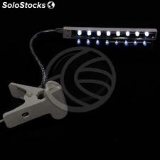 8 LEDs usb Lamp with Flexible Arm (UC37-0002)
