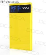 8000mah super high capacity powerbank with Large oled Screen