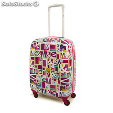80450 trolley cabine en polycarbonate mes marque low cost Fuchsia