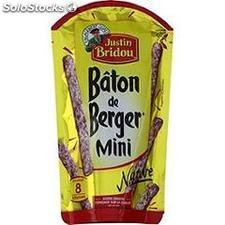 80G mini baton de berger nature justin bridou