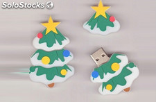 8G Navidad memoria usb Flash Drive USB 2.0 pendrive al por mayor