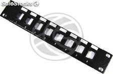 8port rack10 1U Patch panel for keystone type 110 configurable (RP05)