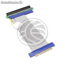 8X PCIe 16X extension cable 19cm power (CX73)