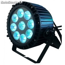 9*12w rgbwa+uv (6in1) par 64 rgbwa + uv 9x12W led Par cans exterior