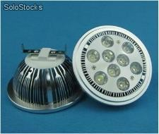 9 Watts g53 Foco ar111 led blanco 110v /220v