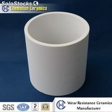 92% Al2O3 High Temperature Resistant Ceramic Tube /Tubing