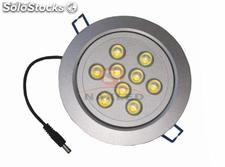 9x1W led downlight
