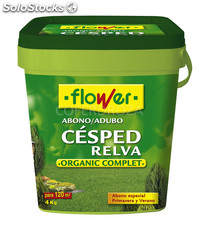Abono cesped organic complet flower 4 kg