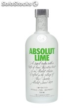 Absolut lime 70cl / 40%