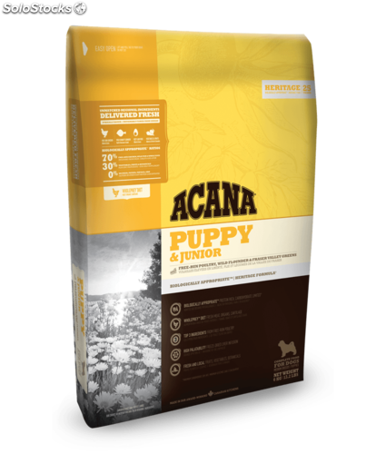 Acana puppy junior 17 kg.