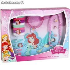 Accesorios pelo 21PZAS, disney -princess- - natural care - 8433774557067 -