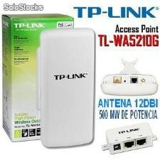 Access Point tp-link tl-wa5210g cpe 500mw con poe